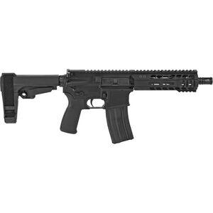 "Radical Firearms 5.56 NATO AR-15 Semi Auto Pistol 7.5"" Barrel 30 Rounds 7"" Free Float M-LOK MHR Handguard SB-Tactical Pistol Brace Black"