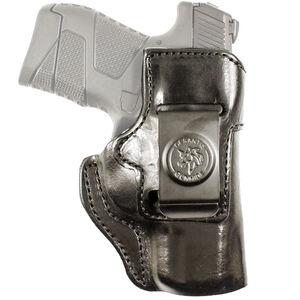 DeSantis Inside Heat Holster IWB fits GLOCK 48 Right Hand Leather Black