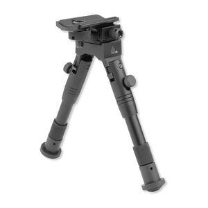 "Leapers UTG Shooter's SWAT Bipod Adjustable 6.2"" to 6.7"" Aluminum Black TL-BP28S"
