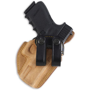 Galco Royal Guard IWB Holster Fits GLOCK26/27 Right Hand Leather Black