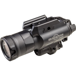 SureFire X400UH-A-RD Weapon Light and Laser Sight 600 Lumens 5mW Red Laser 2x CR123A Lithium Batteries Ambidextrous Switch Aluminum Body Black