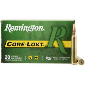 Remington Express 7mm RUM Ammunition 20 Rounds 150 Grain Core-Lokt Pointed Soft Point Projectile 3110fps
