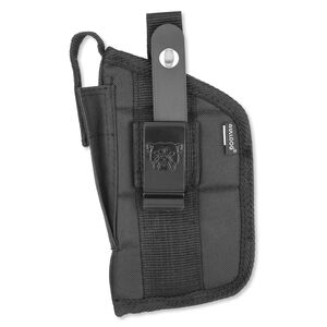 """Bulldog Extreme Belt Holster Compact Semi Autos with Light or Lasers 2.5"""" to 3.75"""" Barrels Ambidextrous Black FSN-19C"""
