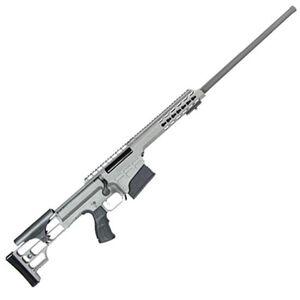 "Barrett Model 98B Fieldcraft Bolt Action Rifle .300 Win Mag 24"" Barrel 10 Rounds M1913/Picatinny Rail Adjustable Cheek Piece Gray Cerakote 14813"