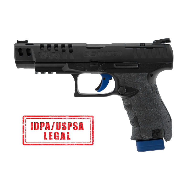 UTG PRO +0 Base Pad, Walther PPQ 9/40, Matte Blue Aluminum