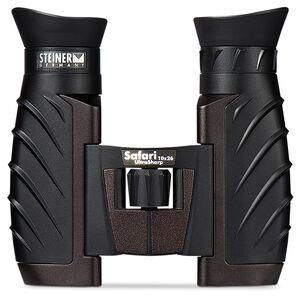 Steiner Safari Ultrasharp 10x 26mm Binoculars Roof Prism Black Rubber Armor 4477