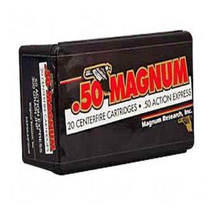 Magnum Research .50 AE 300 Grain HP 20 Round Box