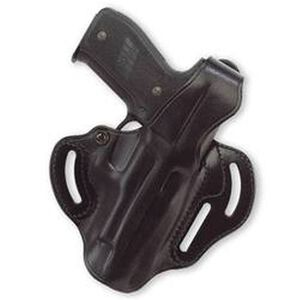 Galco Glock 26, 27, 33 Cop 3 Slot Belt Holster Right Hand Black