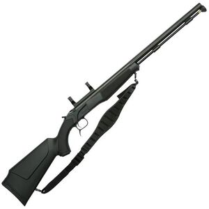 "CVA Accura MR Nitride Barrel Black Powder Rifle .50 Caliber 25"" Barrel Dead On Scope Mount Synthetic Stock Black Nitride Finish"
