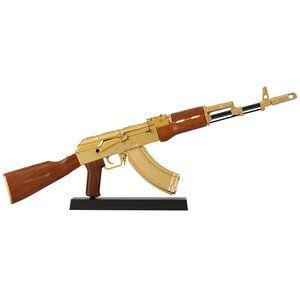Ravenwood International Non Firing Mini Replica 1/3 Scale AK-47 All Metal Construction Gold Finish