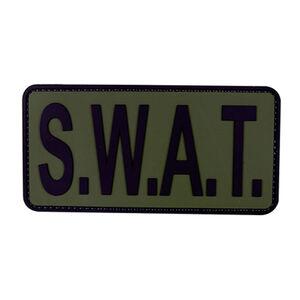 5ive Star Gear PVC Morale Patch SWAT Green Black