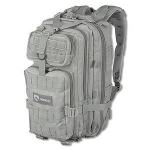 """DRAGO Gear Tracker Backpack 18""""x11""""x11"""" 600D Polyester SEAL Gray 14-301GY"""
