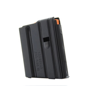 DURAMAG By C-Products Defense AR-15 Magazine .223/5.56 NATO 10 Rounds Stainless Steel Black 1023041178CPD