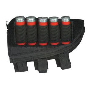 Fox Outdoor Shotgun Butt Stock Cheek Rest Right Hand Black 55-581