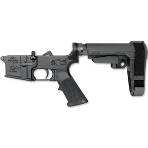 Rock River Arms LAR-15 Complete Lower Half Standard Trigger SB Tactical SBA3 Adjustable Arm Brace Black AR0950PBA3