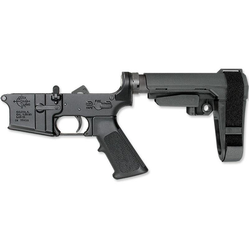 Rock River Arms LAR-15 Complete Lower Half Standard Trigger SB Tactical SBA3 Adjustable Arm Brace Black AR0950PBA3