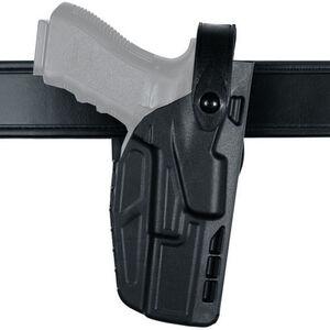 Safariland Model 7280 7TS SLS Mid Ride Duty Belt Holster Fits SIG Sauer P320 9/9C/40/40C with TLR-1 and Similar Lights Right Hand SafariSeven STX Plain Matte Black