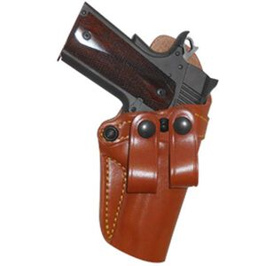 Gould & Goodrich Gold Line GLOCK 19, 23, 32 Inside Waistband Holster Right Hand Leather Tan 810-G19