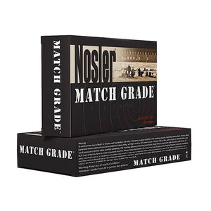 Nosler Match Grade 6.5 Creedmoor Ammo 140-Grain Custom Competition HPBT 2550 fps 20 Round Box 43455