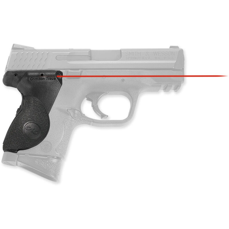 Crimson Trace LaserGrip S&W M&P Compact 9mm/ 40/ 357 Red Laser 2x 2032  Batteries LG-661