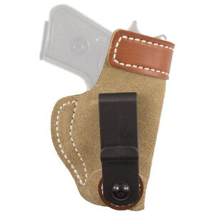 DeSantis Sof-Tuck IWB Holster For GLOCK 42 Right Hand Leather Natural 106NAY8Z0