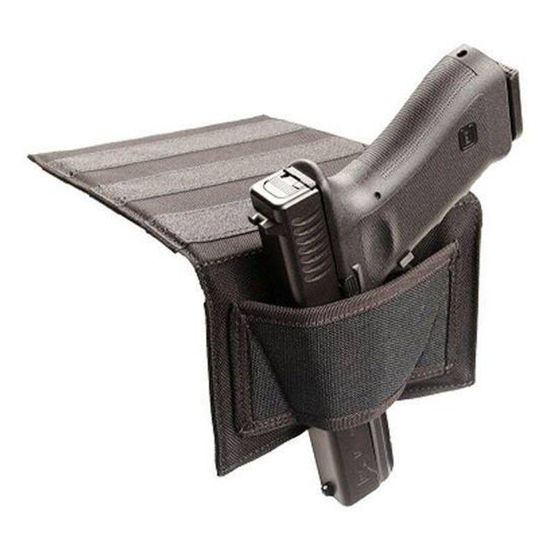 BLACKHAWK! Universal Bedside Holster Ambidextrous Nylon Black 40BH00BK