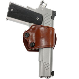 Galco Yaqui Slide Belt Holster Full Size Semi Auto Pistols Right Hand Leather Tan YAQ202