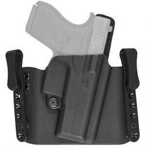 Comp-Tac Flatline Holster GLOCK 19/23/32 OWB/IWB Right Handed Kydex Black
