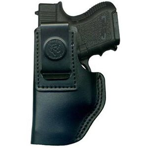 DeSantis Insider IWB Holster For GLOCK/Walther/Taurus Left Hand Leather Black 031BBE1Z0