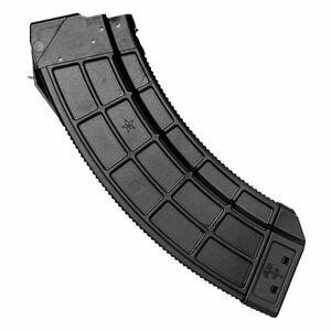 Century Arms US Palm AK-47 30 Round Magazine with Steel Cage, Black
