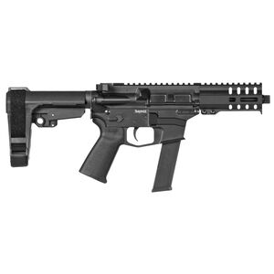 "CMMG Banshee 300 MkGs .40 S&W AR-15 Semi Auto Pistol 5"" Barrel 30 Rounds RML4 M-LOK Handguard CMMG Micro/CQB RipBrace Graphite Black Finish"