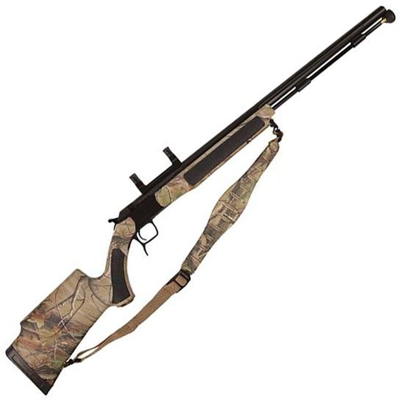 CVA Accura V2 Nitride Barrel Break Action Black Powder Rifle  50 Caliber  27