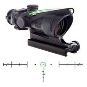 Trijicon 4x32 ACOG Rifle Scope Horseshoe BAC Reticle .5 MOA Clicks Aluminum Housing Black TA31H-68-G