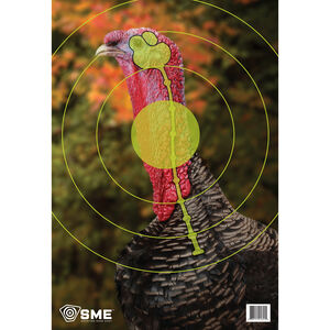 """SME Game Targets Turkey Highlighted Vital Area 16.5""""x24"""" 3 Pack"""