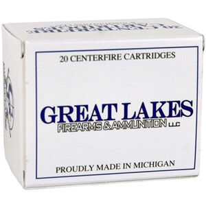 Great Lakes Ammunition Reman .45-70 Government 20 Rounds RNFP Poly 405 Grains