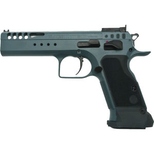 "EAA Tanfoglio Witness Ltd Custom 9mm Luger Semi Auto Pistol 4.75"" Barrel 17 Rounds Adjustable Rear Sight Ported Slide Steel Frame Tancoat Finish"