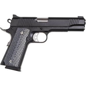 "Magnum Research Desert Eagle 1911 .45 ACP Full Size Semi Auto Pistol 5"" Barrel 8 Rounds Government Profile Black/Gray G10 Grips Black Finish"