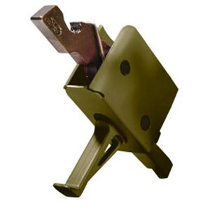 CMC Triggers AR-15 Trigger 3.5 Pound Single Stage Flat OD Green 91503ODG