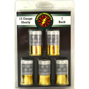 "Exotic Shorty 12ga Mini 1-3/4"" #1 Buck 1175 fps 5 Pack"