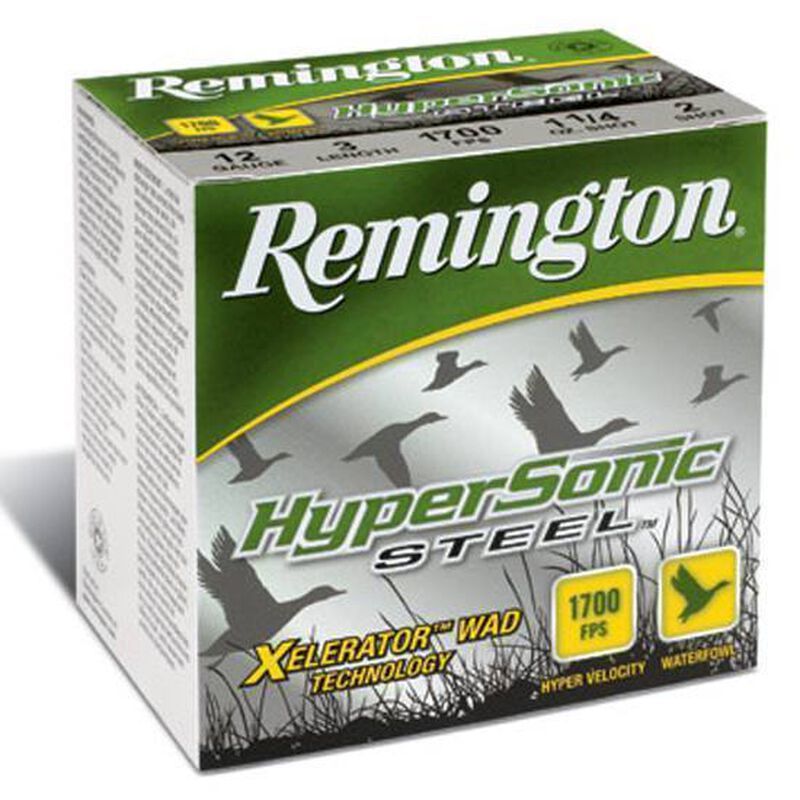 "Remington HyperSonic 12 Ga 3"" #4 Steel 1.125oz 25 rds"