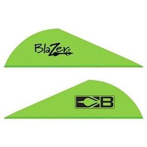 "Bohning Blazer Vanes 2"" Solid Neon Green 100 Pack 10832NG2"