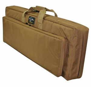 "Double Discreet Square Rifle Case 38"", Coyote Brown"