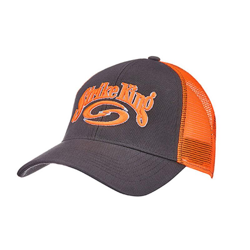 Strike King Trucker Cap Charcoal Body/Orange Neon Mesh