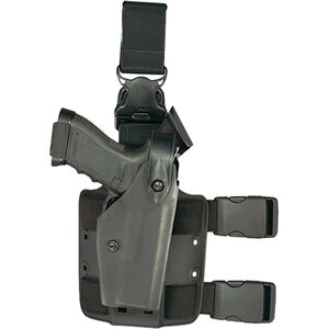 Safariland 6005 SLS Tactical Holster Fist 1911 Full Size with ITI M3X Right Hand Hardshell STX Tactical Black
