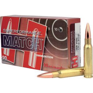 Hornady .308 Winchester Ammunition 20 Rounds Match BTHP 178 Grains