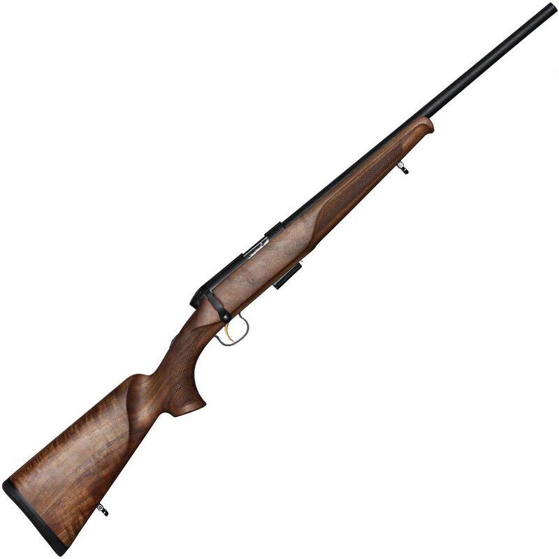 "Steyr Arms Zephyr II Bolt Action Rifle .22 WMR 19.7"" Barrel 5 Rounds European Walnut Stock Bavarian Cheek Piece/Fish Scale Checkering Mannox Finish"