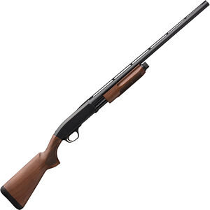"Browning BPS Field 20 Gauge Pump Action Shotgun 26"" Barrel 3"" Chamber 4 Rounds Satin Walnut Stock Matte Blued Finish"