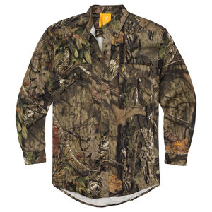 Browning Wasatch-CB Long Sleeve Button-Front Shirt, Mossy Oak Break-Up Country Camo