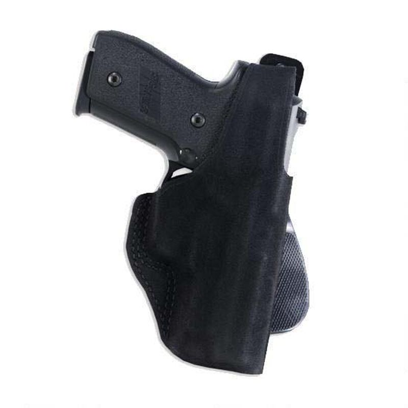 Galco Paddle Lite Kahr CW/K/P Series Paddle Holster Right Hand Steer Hide Black PDL290B
