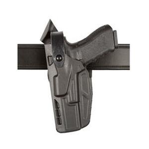 Safariland Model 7360 7TS ALS/SLS Mid-Ride Duty Belt Holster Left Hand Fits SIG Full Size P250/P320 SafariSeven Black
